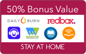 Stay at Home GiftPax Experiences - 50% Bonus Value