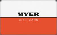 Myer Digital Gift Card $10.00