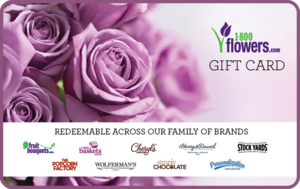 <p>Gift-giving has never been easier with the 1-800-FLOWERS.COM® Gift Card! Browse a wide selection of fresh flowers, delicious gourmet treats and desserts, beautiful plants, stunning gift baskets and more – and then choose exactly what you want!</p>