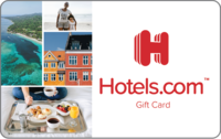 Karta podarunkowa Hotels.com